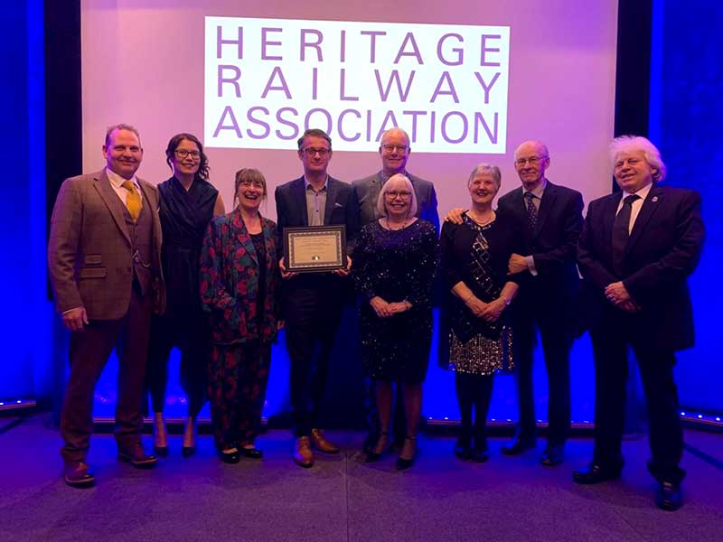 Aaron Luckarift - Heritage Railway Association Awards 2020
