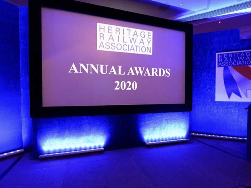 Heritage railway association awards 2020