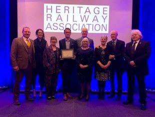 Aaron Luckarift - Heritage Railway Association Awards 2020